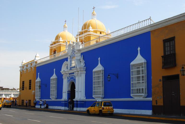 Edificio sede del Arzobispado, Trujillo (La Libertad, Perú)